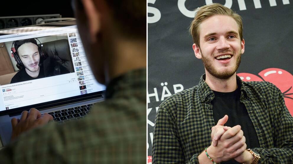 """Felix """"Pewdiepie"""" Kjellberg har hamnat i blåsväder efter en video från januari."""