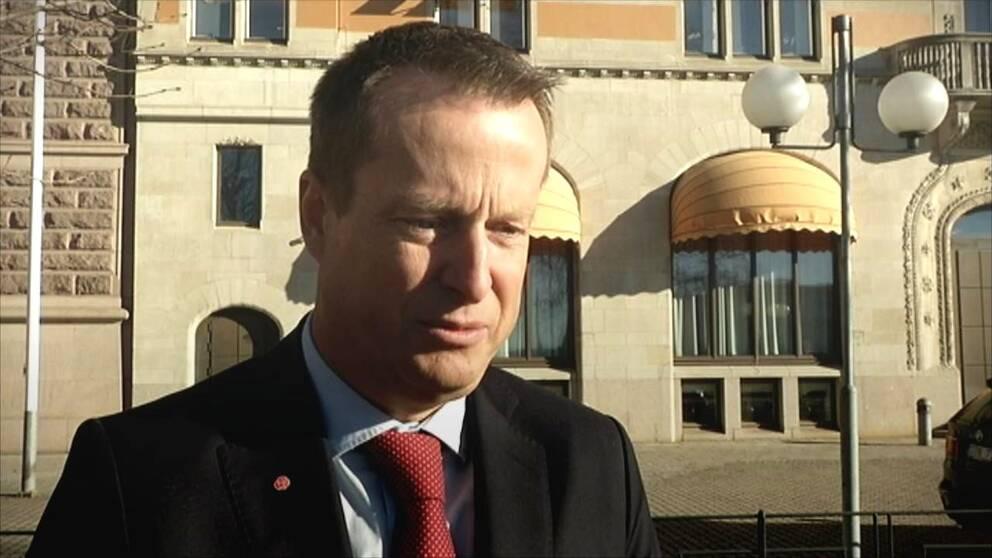 Inrikesministern Anders Ygeman (S)