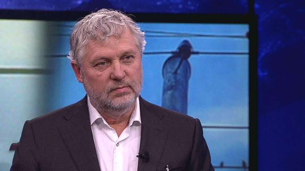 Peter Eriksson (MP) i Aktuellt.