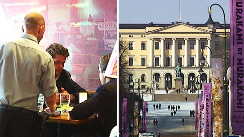 Allt färre svenska ungdomar söker sig till Norge för att hitta jobb