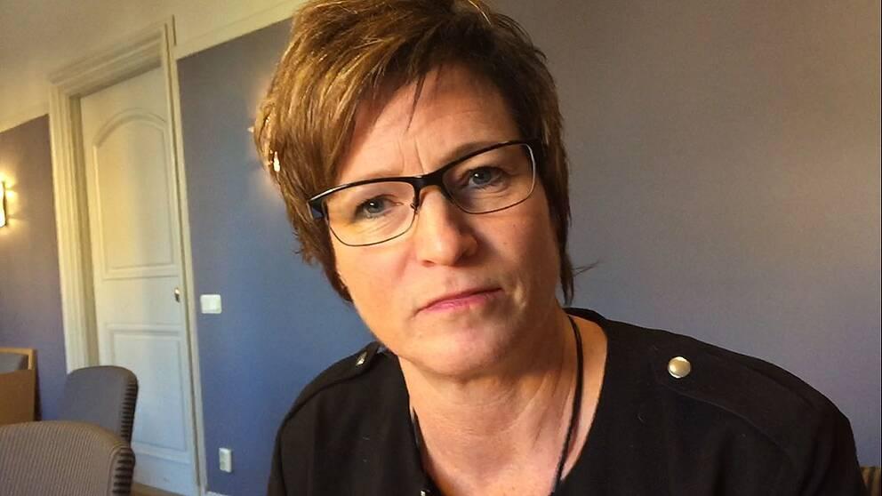 Eva-Britt Sjöberg (KD), ordförande i vård- och omsorgsnämnden, Norrköpings kommun
