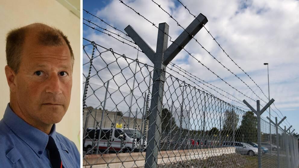 Mats Ehn, anstaltschef på fängelset Hall och