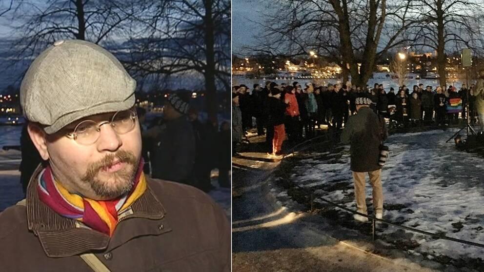 Jimmy Thorsell tycker att media rapporterat otydligt om manifestationen.