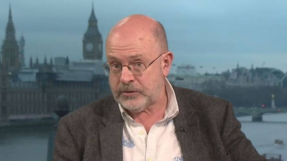 Journalisten John Sweeney.
