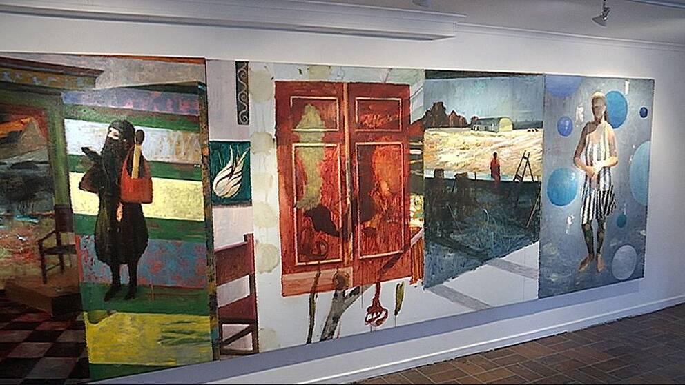 Bo Ljung på galleri Kaz