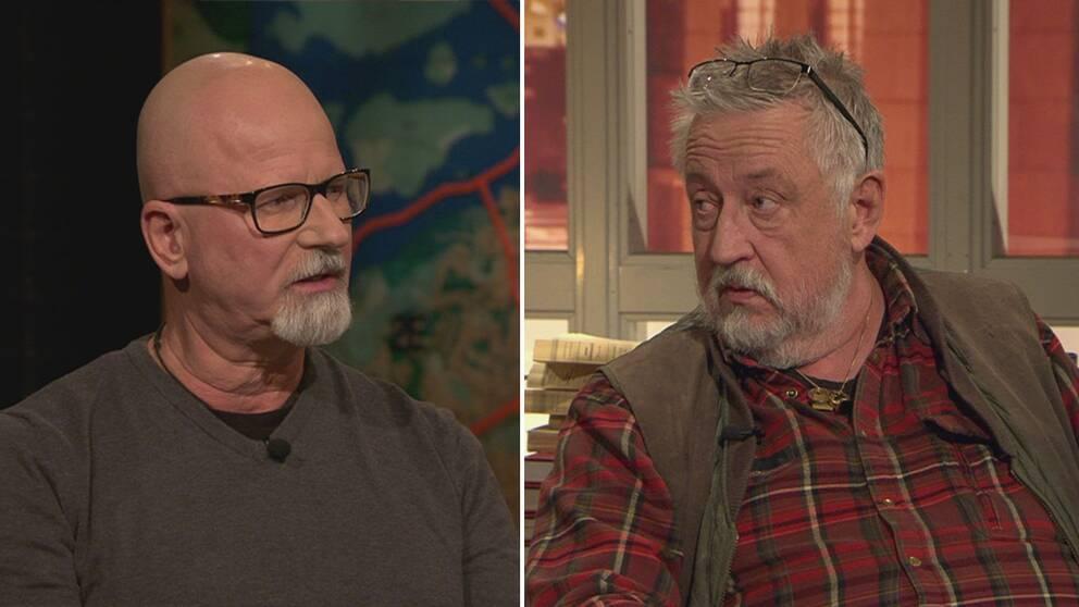 Peter Springare och Leif GW Persson