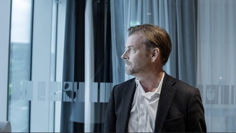 Michael Wolf, före detta vd på Swedbank.