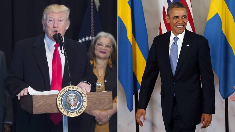 Både Trump och Obama har använt dig av Sverige i sina politiska utspel.