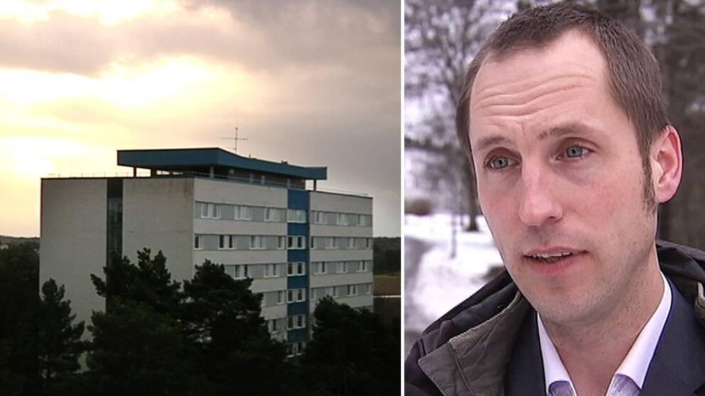 – Om vi pratar om att 1500 studentbostäder skulle försvinna så är det inte alls bra för Uppsala, säger kommunalrådet Erik Pelling (S).
