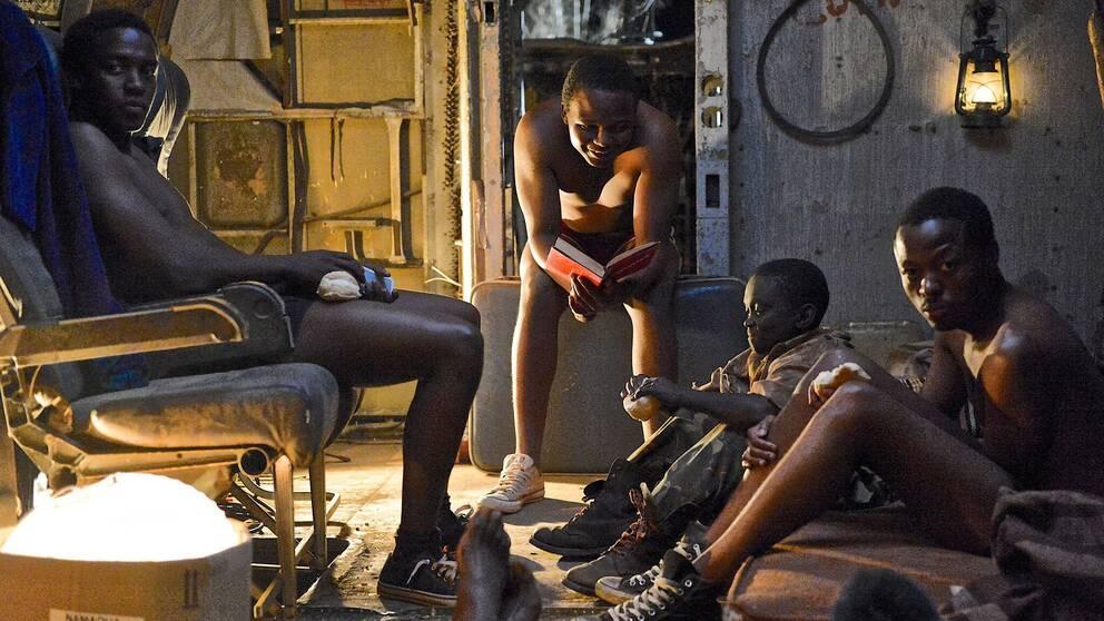 """En scen ur filmen """"Kalushi"""", som skildrar apartheidepoken i Sydafrika."""
