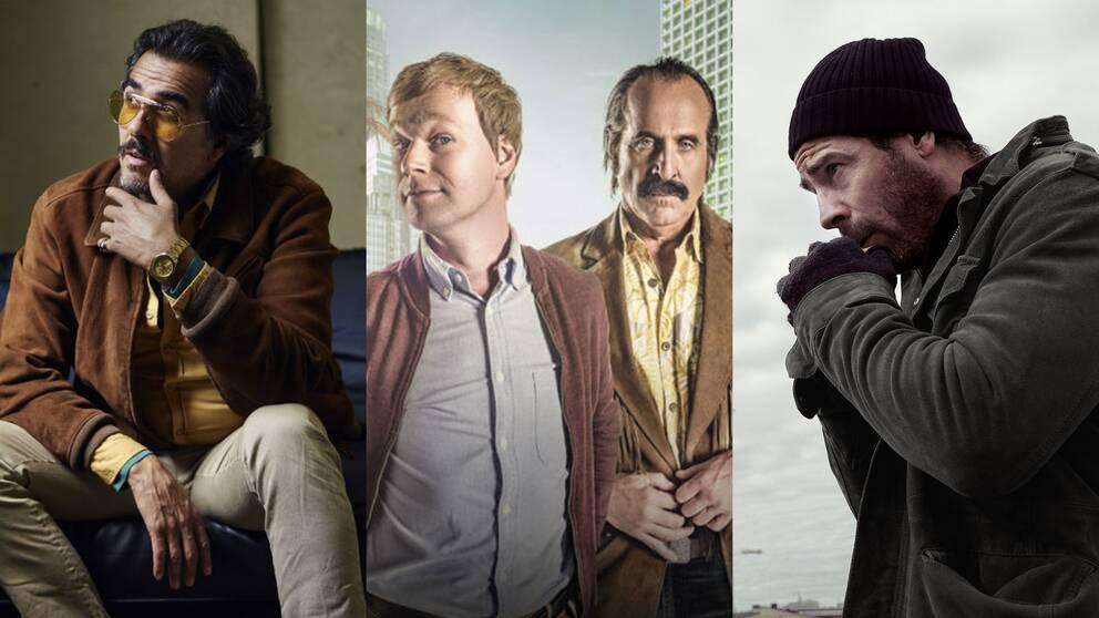 """""""Veni vedi vici"""", """"Swedish dicks"""" och """"Hassel"""" med Ola Rapace i huvudrollen är några av Viaplays egna tv-satsningar."""