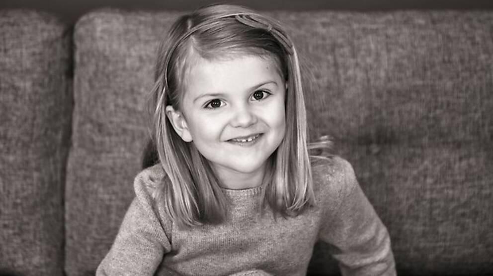 Prinsessan Estelle fyller fem år