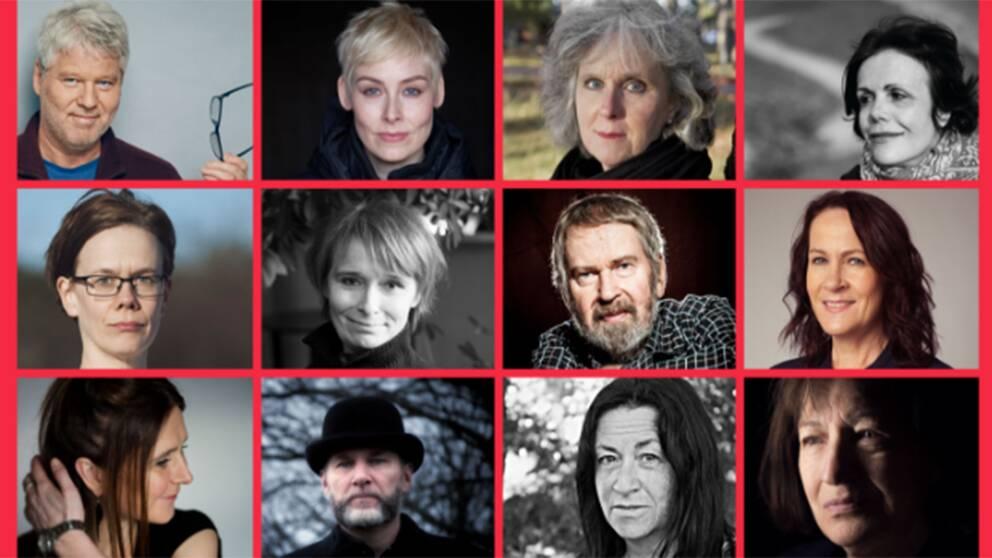 Nominerade till Nordiska rådets litteraturpris.