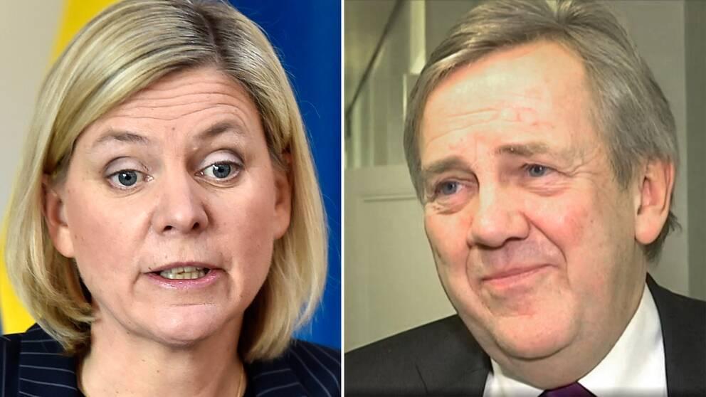 Magdalena Andersson (S) meddelade under torsdagen att Skatteverkets generaldirektör Ingemar Hansson inte kommer sitta kvar på sin post.