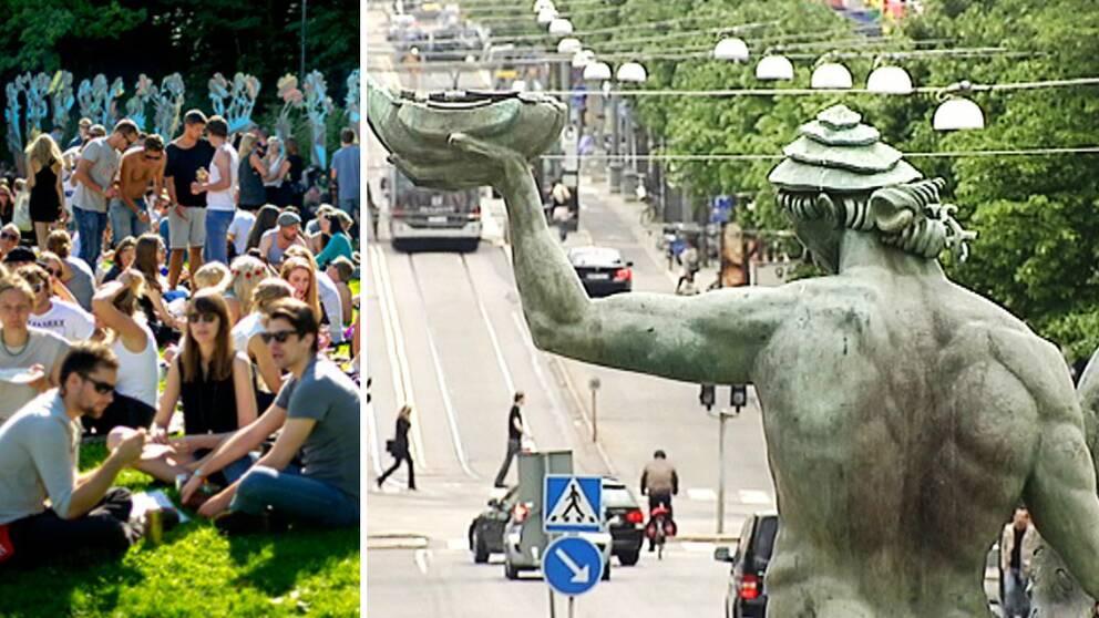 Göteborg, världens mest sociala storstad.