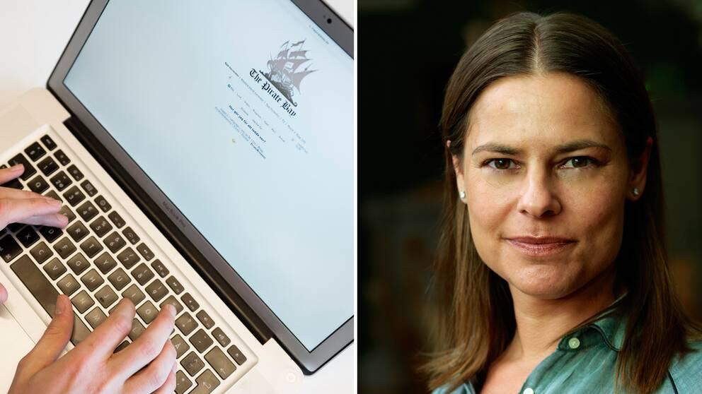 – Bara för att man får ett kravbrev måste man inte betala det, säger Sanna Wolk, docent i upphovsrätt vid Uppsala universitet.
