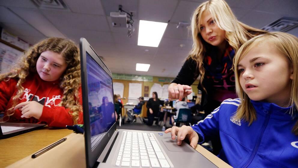 Sex- och sjuåringar upplever hög stress i vardagen.