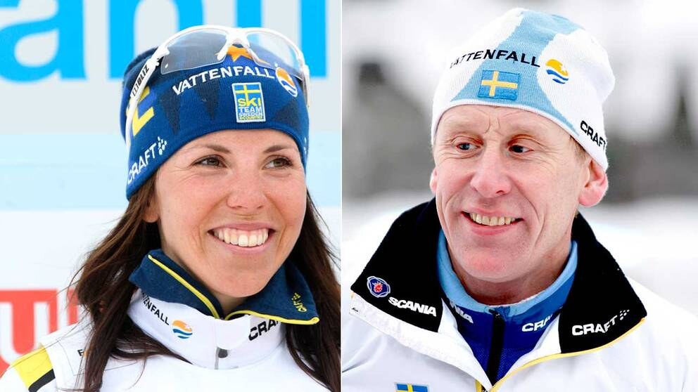 Svenska skidgiganter.