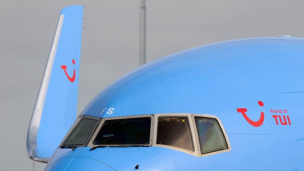 Flygplan.