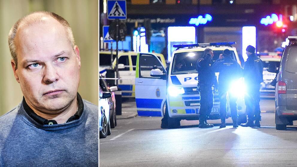 Risken för att råka ut för dödligt våld i Sverige är låg, skriver Morgan Johansson i Wall Street Journal – som svar till SD-topparnas debattartikel om Sverige i samma tidning.