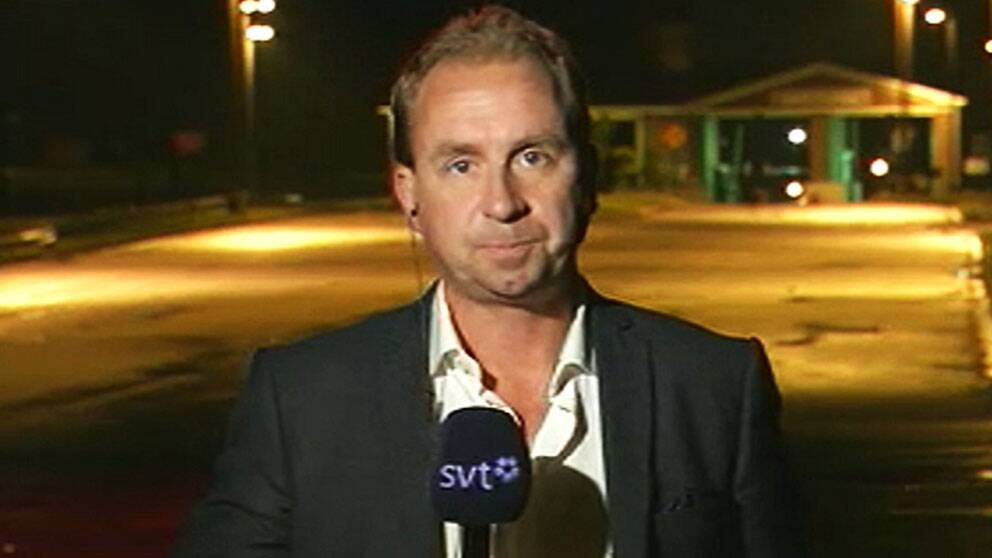 SVT:s Stefan Åsberg rapporterar på plats i Fort Meade från rättegången mot soldaten Bradley Manning.