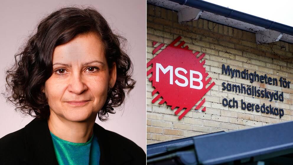Anneli Bergholm Söder, chef operativa avdelningen, MSB.
