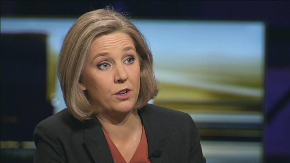 Miljöminister Karolina Skog (MP) i Agenda.