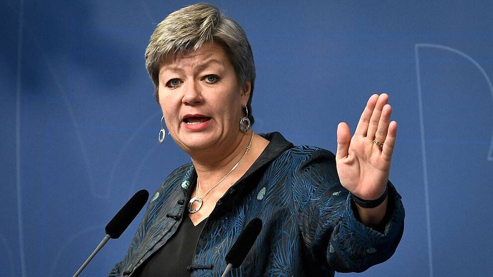Arbetsmarknadsminister Ylva Johansson (S)