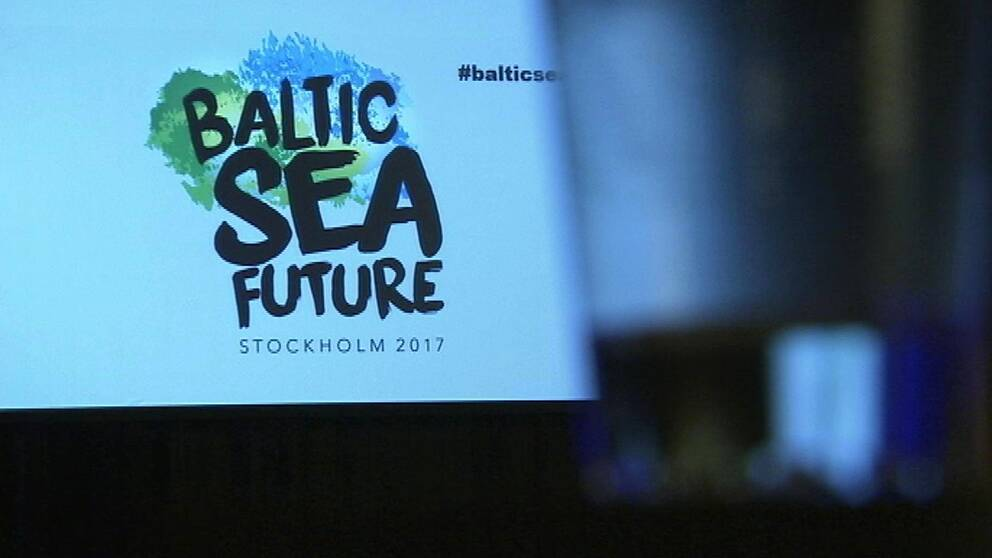 Baltic sea future-konferens i Stockholm
