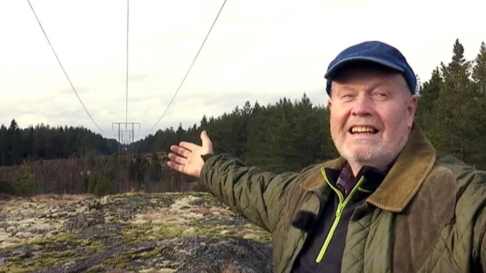 Alf Gustafsson ordförande Kolmårdsvind