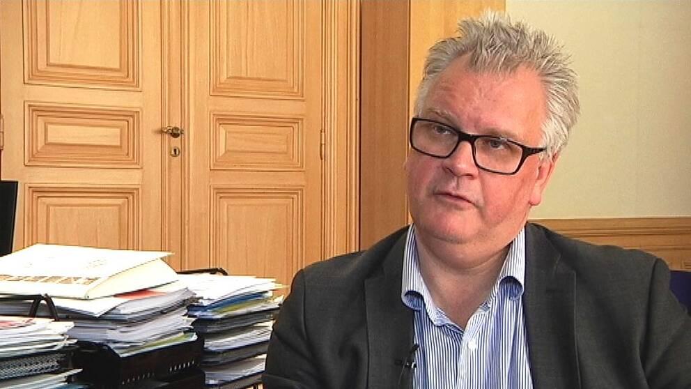 Kommunalrådet Paul Lindvall (M) i Linköping