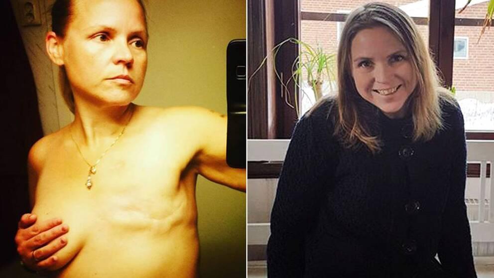Charlotta drabbas av bröstcancer, för att förebygga återfall lade hon om sin kost.