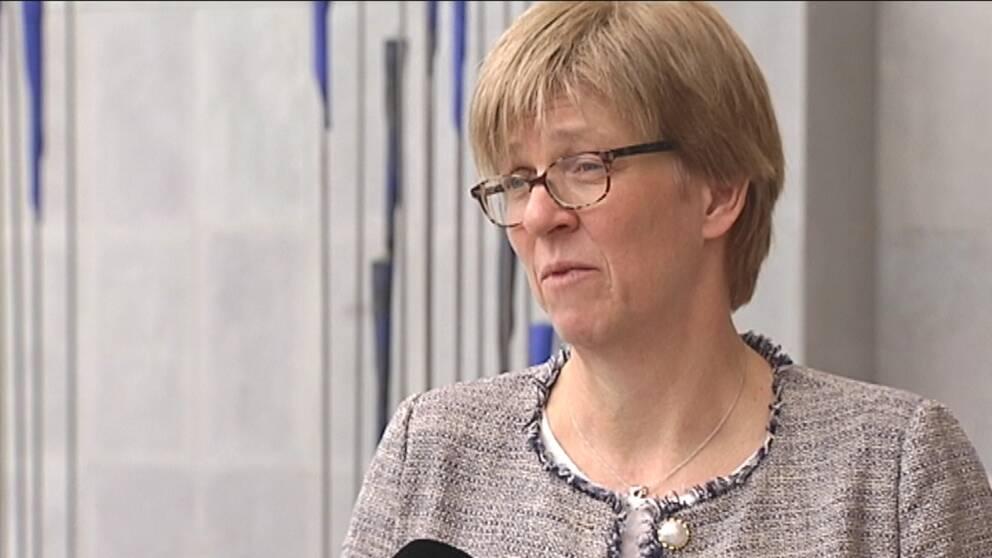 Elisabeth Björk, chef AstraZeneca Mölndal.
