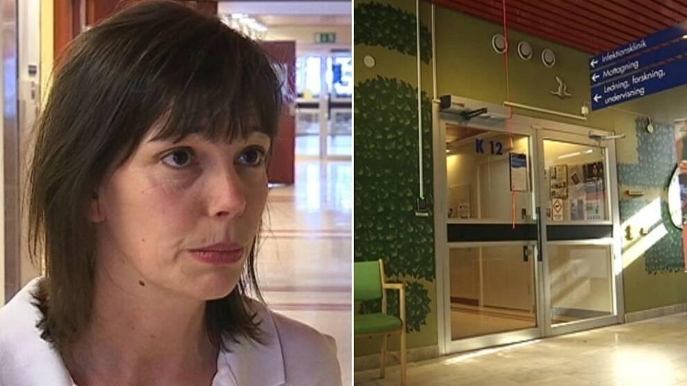 ann-louise lindström, infektionskliniken, nus