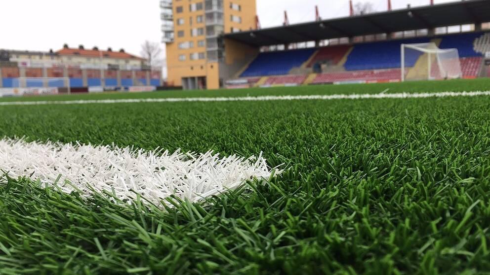 Fotbollsplan, tunavallen i Eskilstuna.