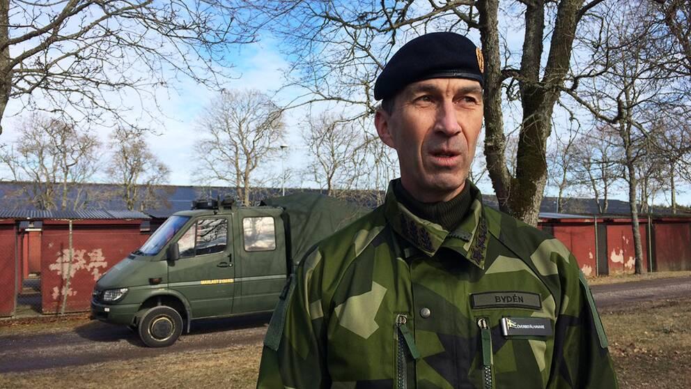 ÖB Micael Bydén Linköping Försvarsmakten överbefälhavare