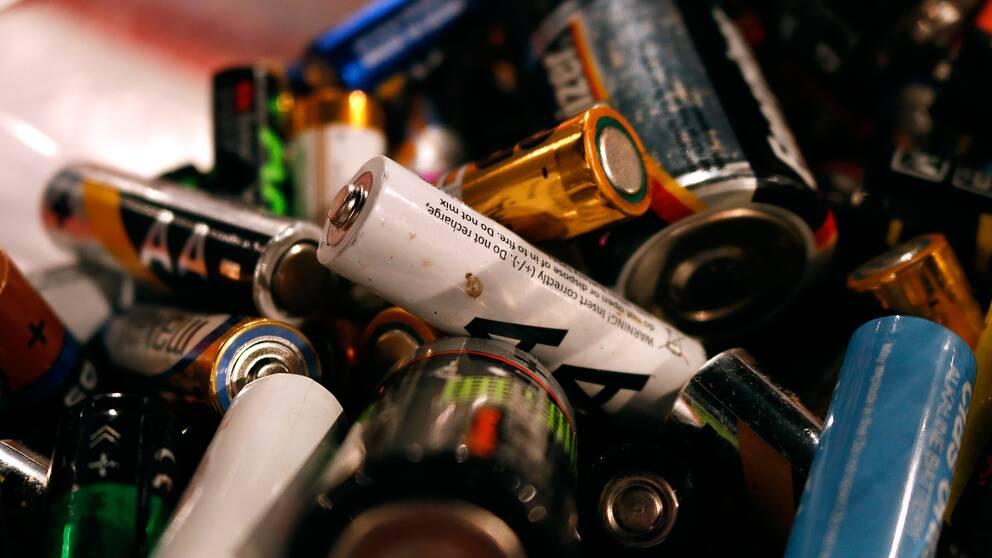 Batterier slängs ofta innan de faktiskt har tagit slut.