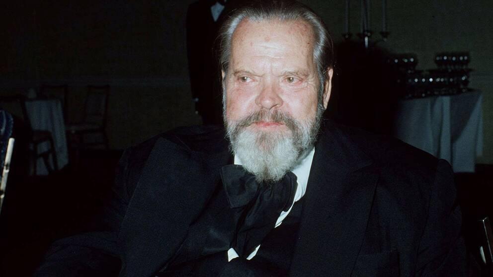 Orson Welles 1981.