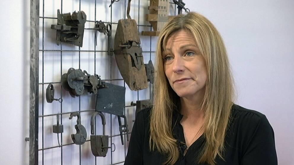 Pia Lindström, vice vid på Stöldskyddsföreningen