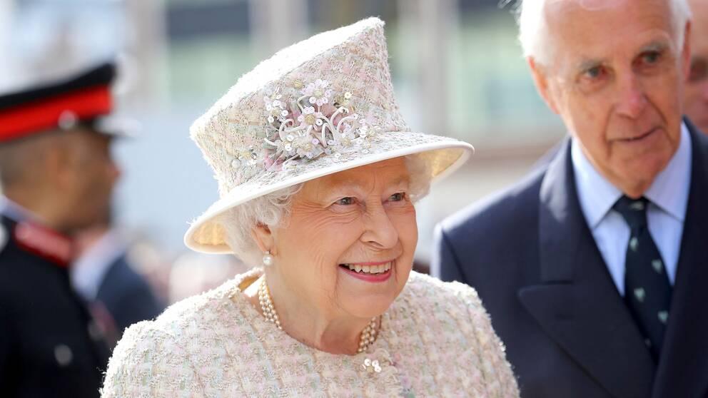 Storbritanniens drottning Elizabeth II.