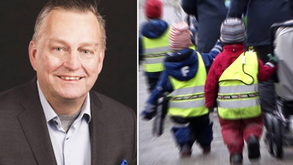Lennart Adell Kind, Liberalernas gruppledare i Växjö vill ta krafttag mot föräldrar som väljer att inte vaccinera sina barn mot mässlingen.