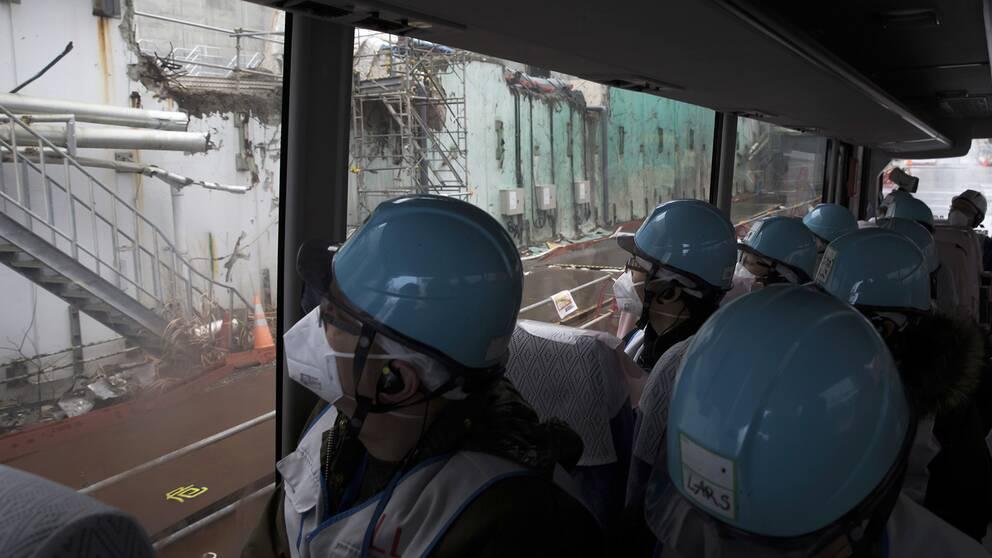 Besök på det havererade kärnkraftverket i Fukushima
