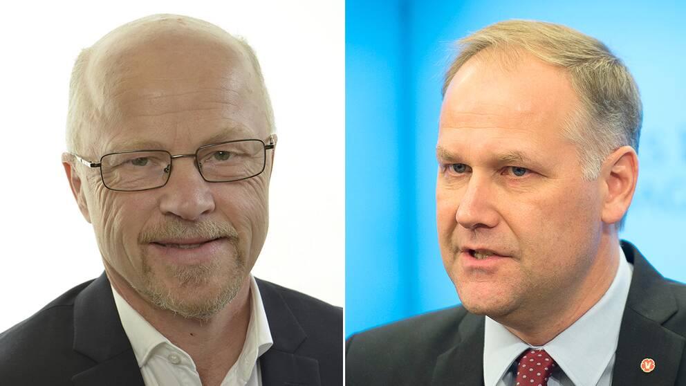 Stig Henriksson och Jonas Sjöstedt.