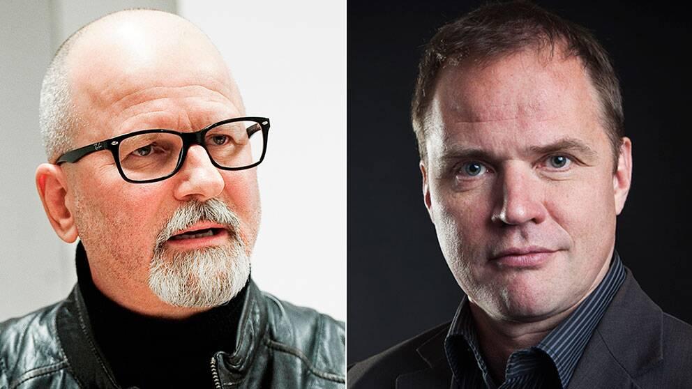 Örebropolisen PeterSpringare och Björn Häger, ordförande för Publicistklubben.