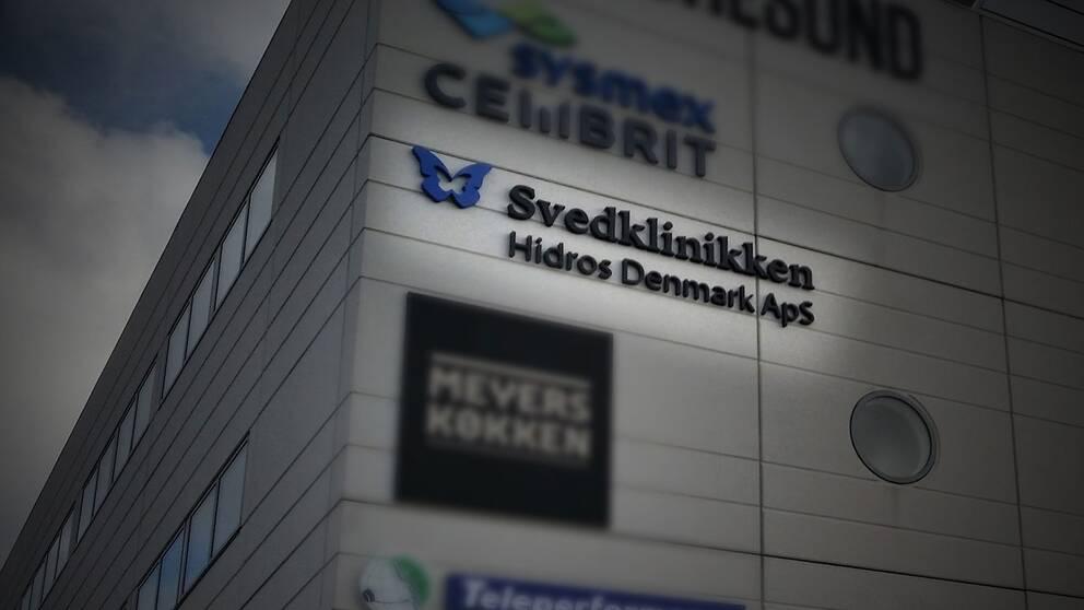 46 av 70 miljoner i skattepengar för vård i andra EU-länder gick förra året till en svenskägd klinik i Danmark som behandlar problem med svettningar.