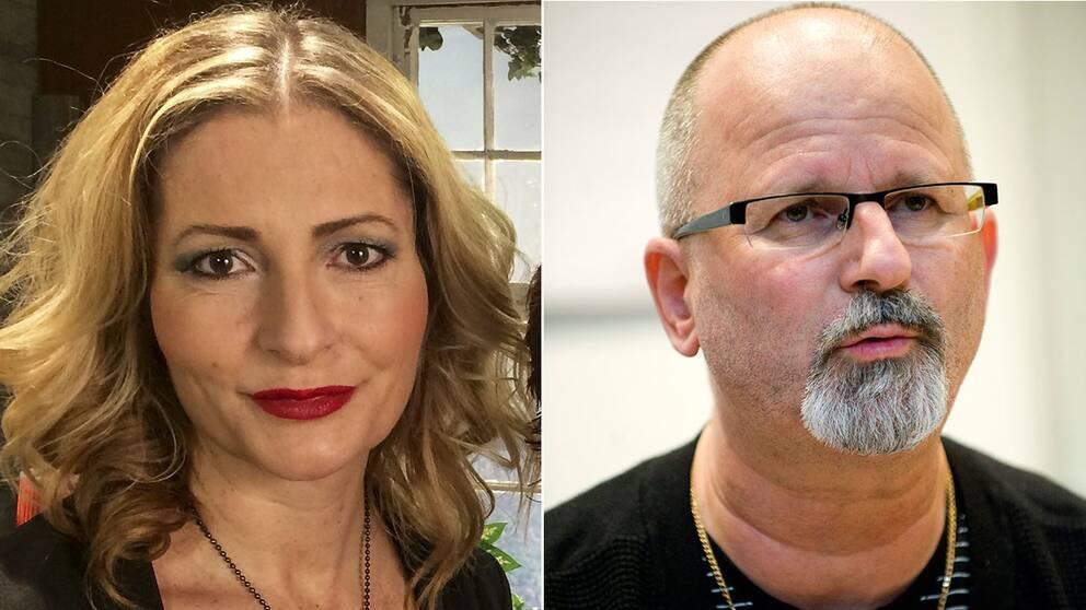 Polisen Peter Springare och författaren Katerina Janouch blir krönikörer på Nyheter Idag.