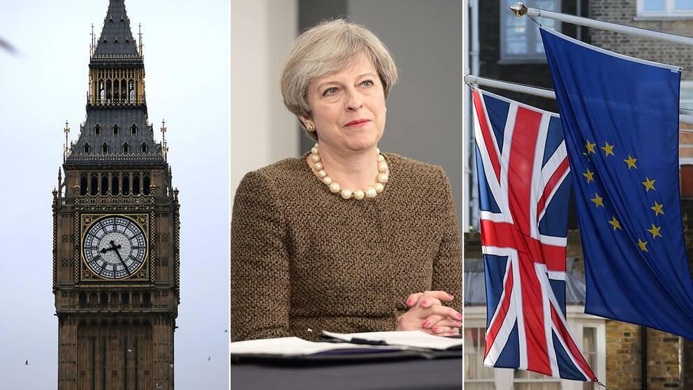Theresa May aktiverar artikel 50 nästa onsdag.