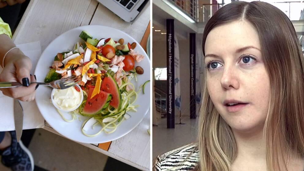 Julia Malmborg doktorand vid utbildningen hälsa och livsstil på Högskolan i Halmstad