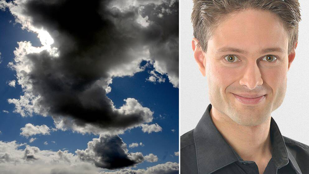 Nye skyer blir lagt til i det nye skyatlaset, inkludert kunstige skyer, sier SVTs meteorolog Joel Mellin.
