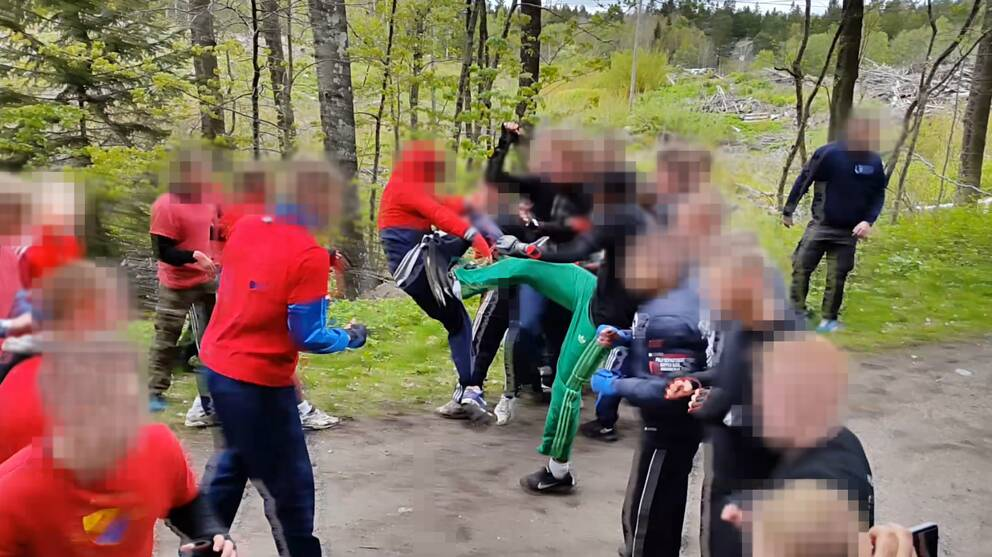 Supporterbrak i stockholm